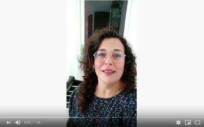 Videostatement Sonia Moreno